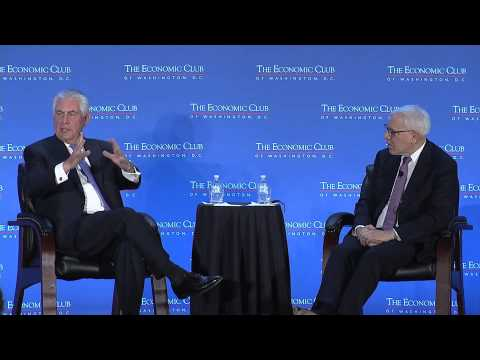Rex W. Tillerson, Chairman and CEO, Exxon Mobil Corporation