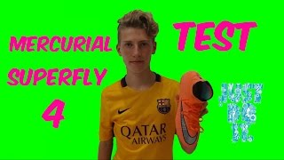 Mercurial Superfly 4 Тест|Обзор