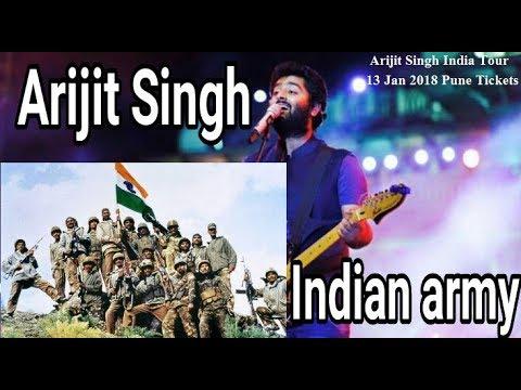 Arijit Singh Sings for Indian Army