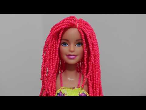 Barbie Boncuktan Saç Yapımı - Barbie'nin Başına Gelenler Bölüm 1 - Bidünya Oyuncak