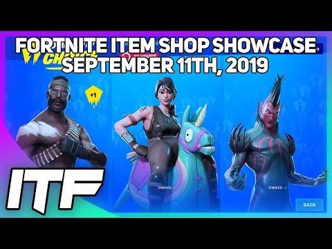 Fortnite Item Shop *NEW* COMMUNITY CHOICE SHOP! [September 11th, 2019] (Fortnite Battle Royale)