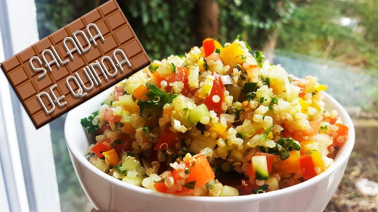Salada De Quinoa Como Cozinhar Quinoa Youtube
