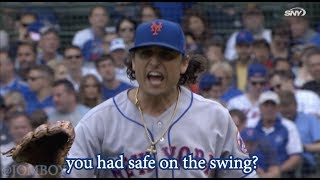 The umps miss a swing call and Jason Vargas gets so mad, a breakdown