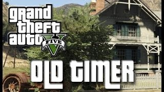 THE OLD TIMER IN GTA 5 - TROLLING/RAGING/FREAKOUT - GOONONFIRE