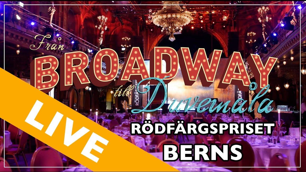 Från Broadway till Duvemåla - Rödfärgspriset 2016