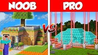 Minecraft NOOB vs PRO: SAFEST HOUSE in MINECRAFT / Animation
