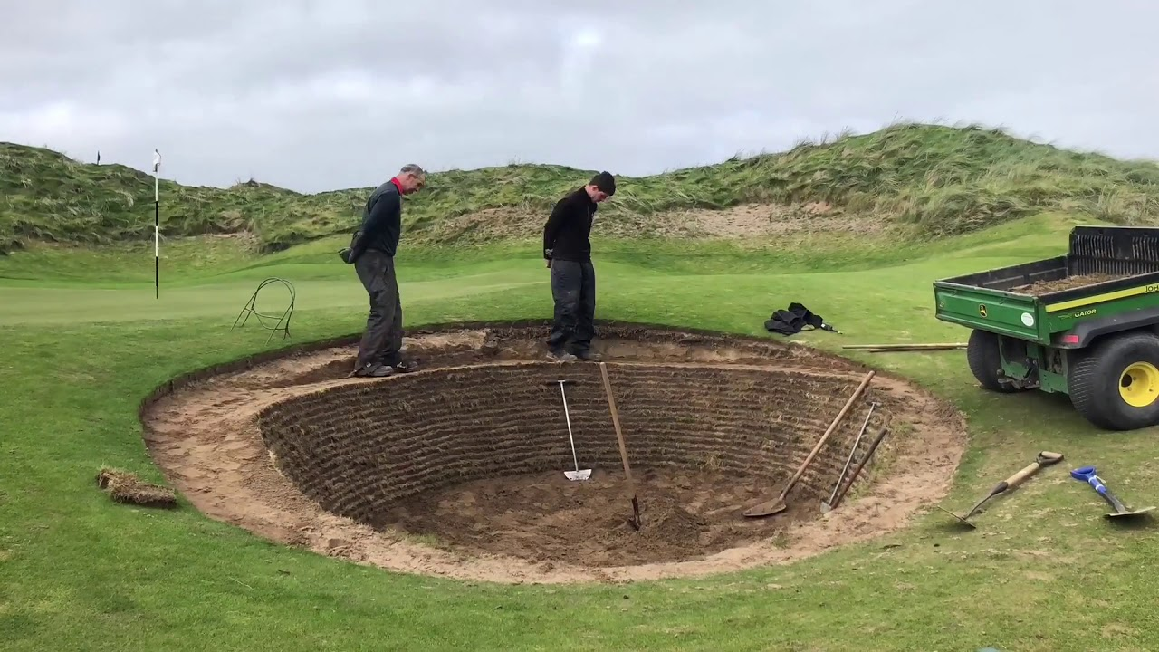 Building new bunkers - YouTube