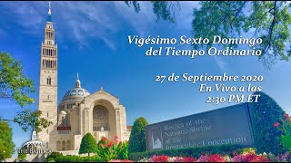 La Misa el 26º Domingo del Tiempo Ordinario
