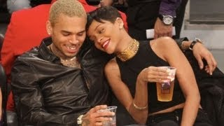 Chris Brown & Rihanna Caught Snuggling