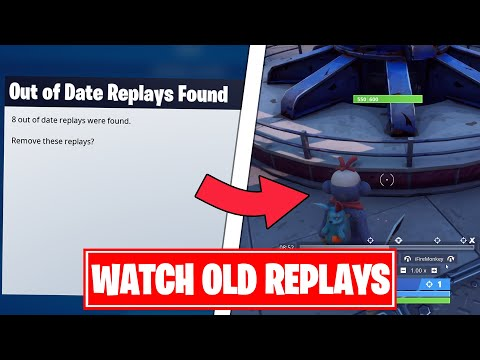 [PC] How To Watch OLD Replay Files In Fortnite | Chapter 2 Season 2