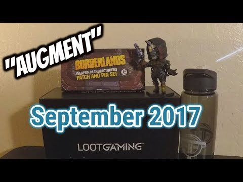 "Loot Gaming September 2017: ""AUGMENT"" Unboxing + NEW GIVEAWAY Announcement!"