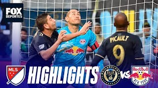 Philadelphia Union 4-3 New York Red Bulls | HIGHLIGHTS | MLS Playoffs