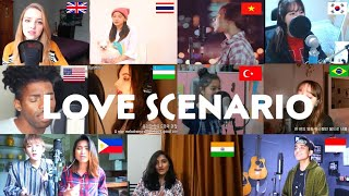 Who Sang It Better:iKON-Love Scenario ' (uk,us,korea,thailand,vietnam,brasil,indo,india)
