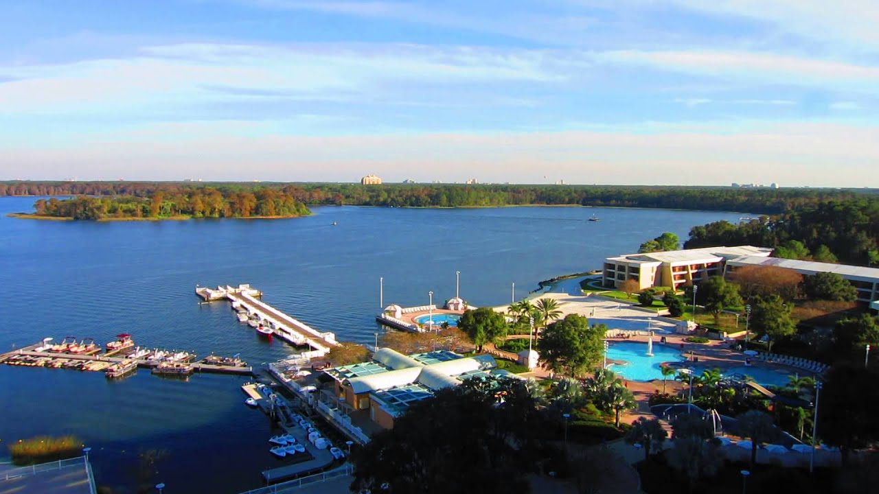 Disney S Contemporary Resort Bay Lake View Youtube