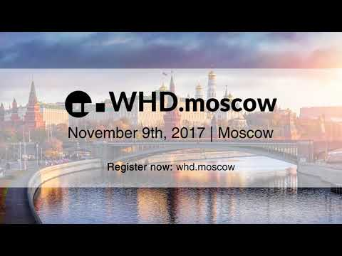 WHD.moscow 2017: November 9th, 2017