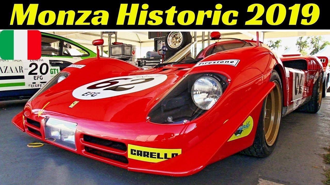 Monza Historic 2019 by Peter Auto - Thursday, Day 1 Highlights - Alfa TZ1, Ferrari 250 SWB, Group C