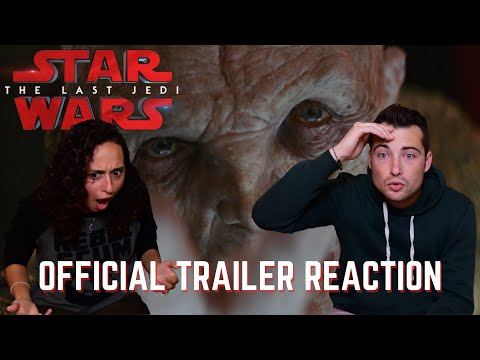Star Wars: The Last Jedi Trailer 2 REACTIONS!