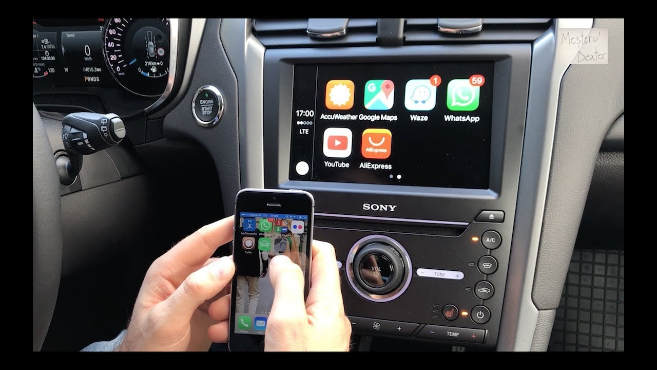 waze direct pe ecranul masinii carplay vs android auto youtube. Black Bedroom Furniture Sets. Home Design Ideas