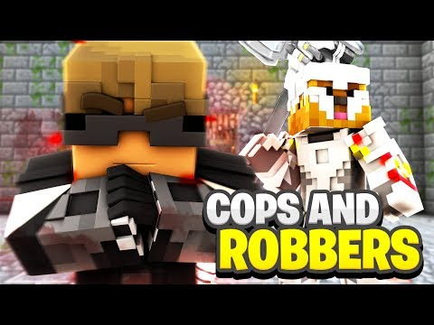 Minecraft Mini-Game: OVERWATCH COPS AND ROBBERS