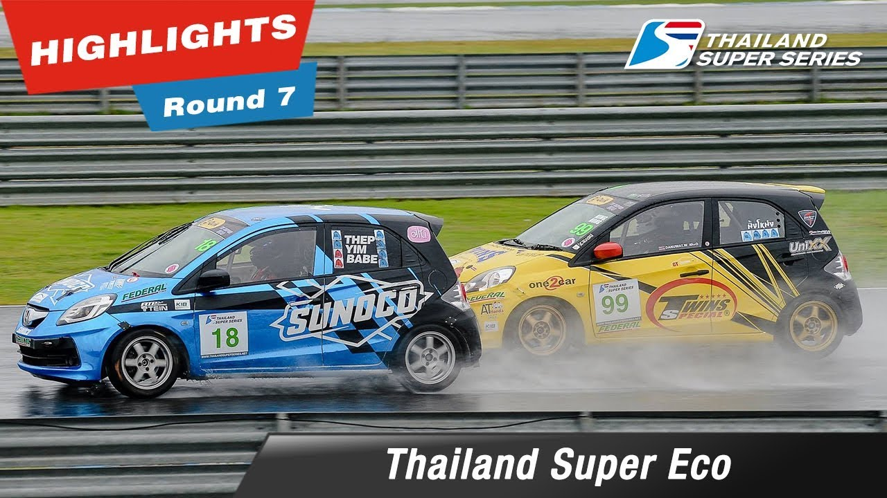 Highlights Thailand Super Eco : Round 7 @Chang International Circuit