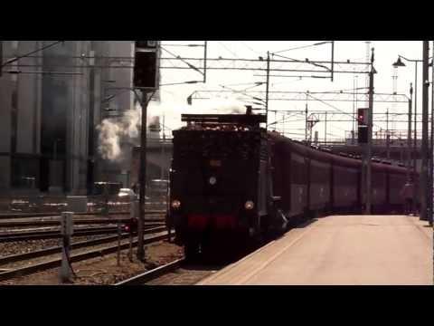 Locomotive Tk3 1136 visiting Tampere 24.4.2011.
