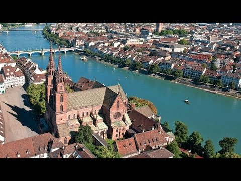 Basel Switzerland - Center of Basel in Switzerland 2014 - Part 2 Sightseeing Switzerland