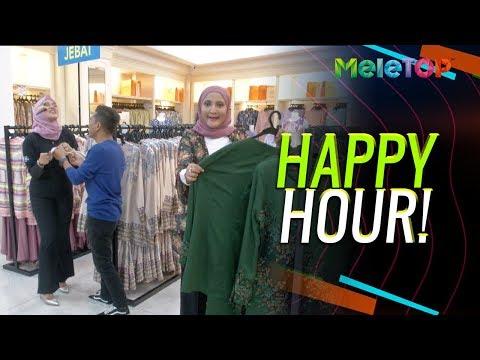 Parodi MeleTOP Baju Raya Happy Hour  Bell Ngasri Azza Elite Kak Lina Pom Pom  Nabil & Neelofa