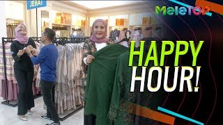 Download Parodi MeleTOP Baju Raya Happy Hour | Bell Ngasri, Azza Elite, Kak Lina Pom Pom | Nabil & Neelofa Mp3