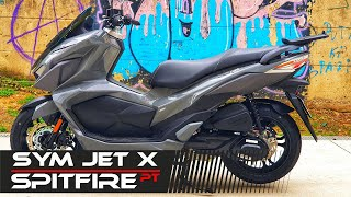 ★🔥🔴 SYM JET X 125cc scooter 2021 ★ Review & TestRide ★🔥🔴 - PORTUGUES 💯✅