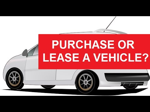Should I Lease or Buy a Car for Business?