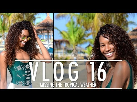 Sharam Diniz VLOG #16 MISSING THE TROPICAL WEATHER