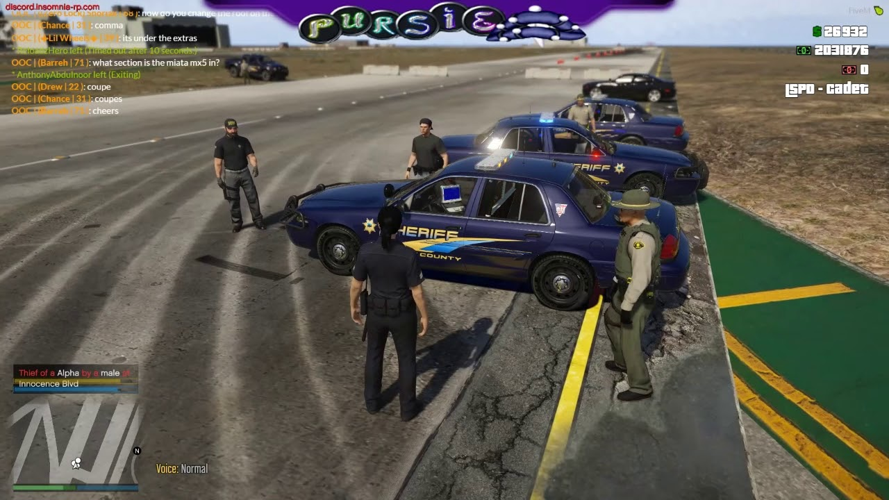 SAES] SAN ANDREAS EMERGENCY SERVICES | POLICE INTERACTION
