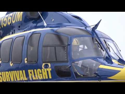 University of Michigan Health System Survival Flight Warming Up