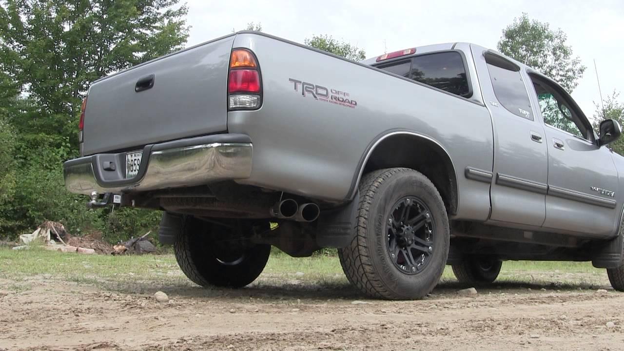 2002 Toyota Tundra Exhaust Youtube