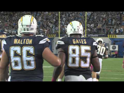 "Antonio Gates: ""You Create Your Own Path"" - San Diego Chargers"