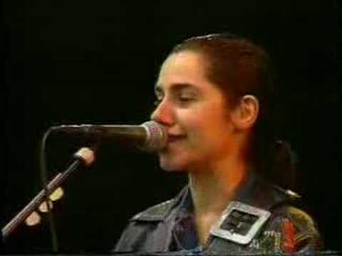 "PJ Harvey 1992 ""O Stella - Dress - Hair"""