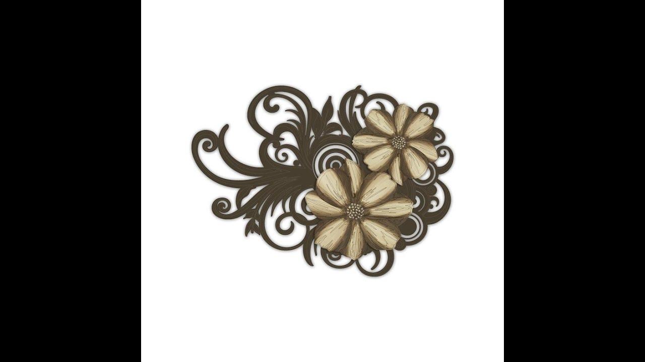 Quadro floreale di las www.mazzolaluce.com youtube