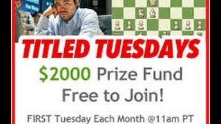 Шахматы - Блиц онлайн - Titled tuesday 05.07.2016 (replay). + бонус гросс-читер