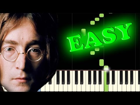 THE BEATLES - ELEANOR RIGBY - Easy Piano Tutorial