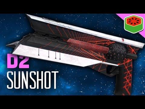 SUNSHOT - NEW EXOTIC HAND CANNON!   Destiny 2 Gameplay