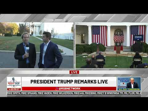 ? LIVE: President Trump Delivers Remarks from The Rose Garden on Operation Warp Speed 11/13/20