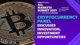 Cryptocurrency panel discusses innovation, investment opportunities