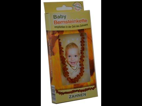 Ожерелье для прорезывания зубов из янтаря для детей