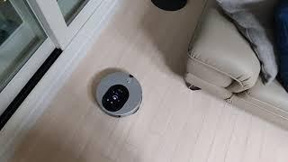 물걸레 로봇청소기 충전하러 지혼자 움직이는 영상 - L…