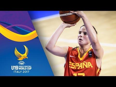 Egypt v Spain - Full Game - FIBA U19 Women's Basketball World Cup 2017