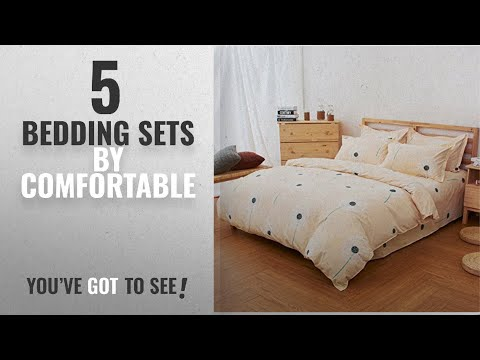 Top 10 Comfortable Bedding Sets 2018: 100% Cotton Duvet