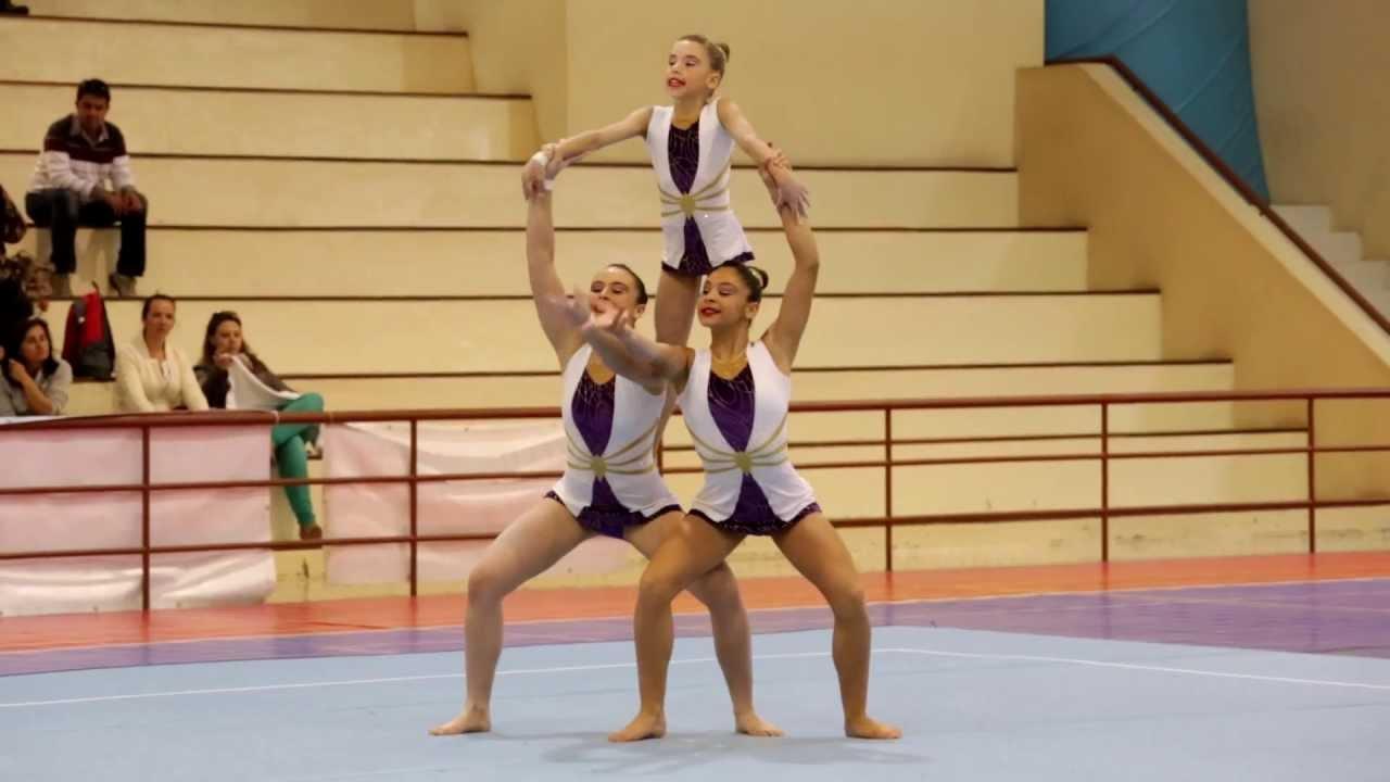 Acrobatic Gymnastics National Champ 2013 SEA WG Juvenil ...