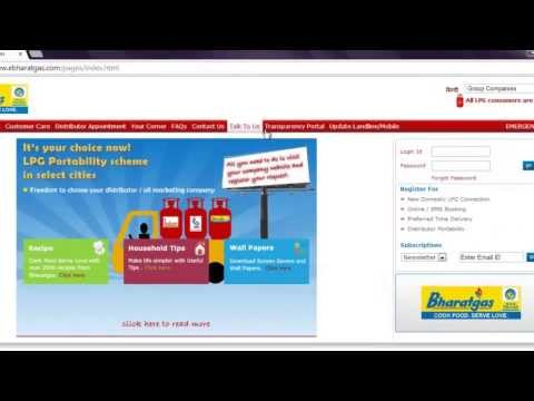 Check BPCL (Bharath) aadhaar gas linking status and remaning number of subsidy cylinder online from YouTube · Duration:  2 minutes 26 seconds