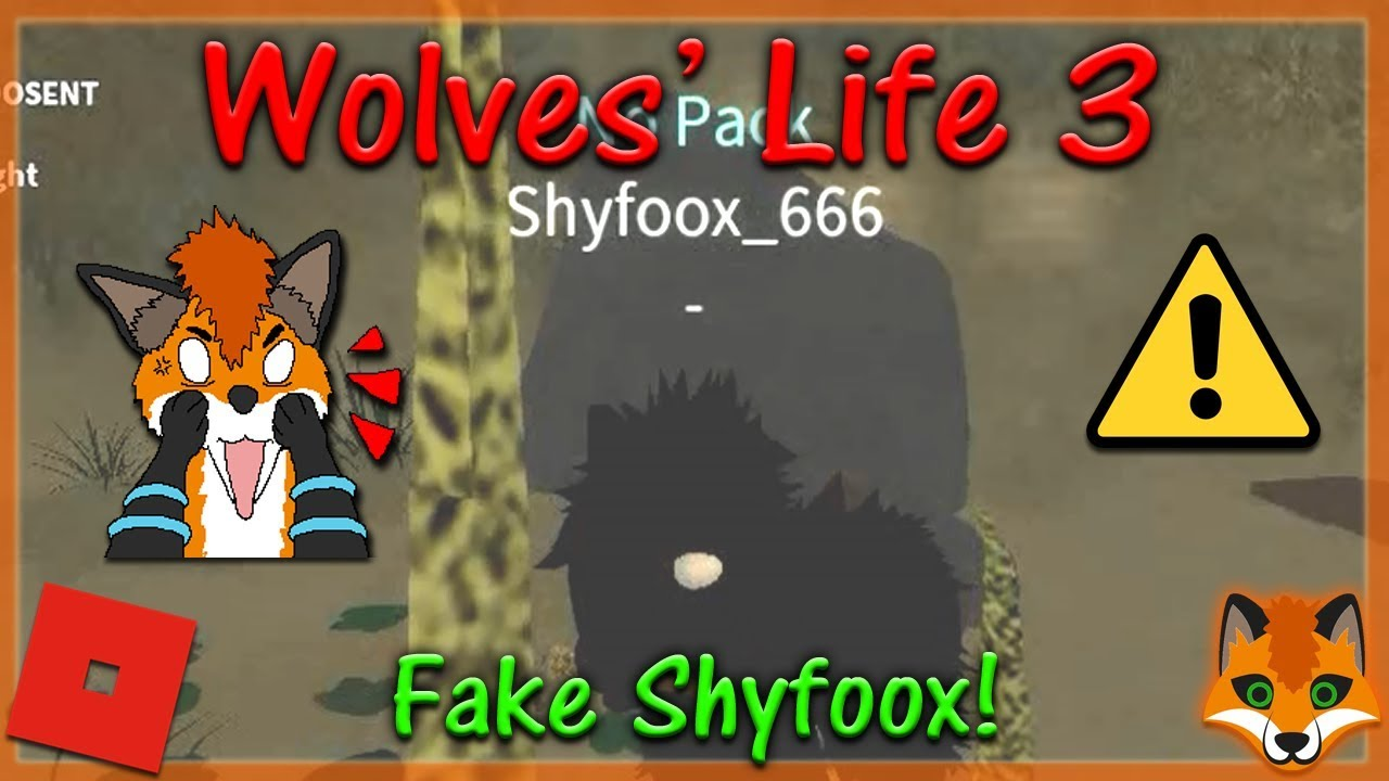 Roblox Wolves Life 3 How To Join Shyfoox Studios Group Hd - Roblox Wolves Life 3 Fake Shyfoox Hd Youtube