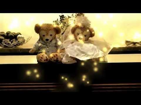 【結婚式】ディズニー 手作りオープニングムービー <ダッフィー\u0026シェリーメイからの贈り物>自作 披露宴 コマ撮り